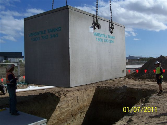 Concrete Water Tank