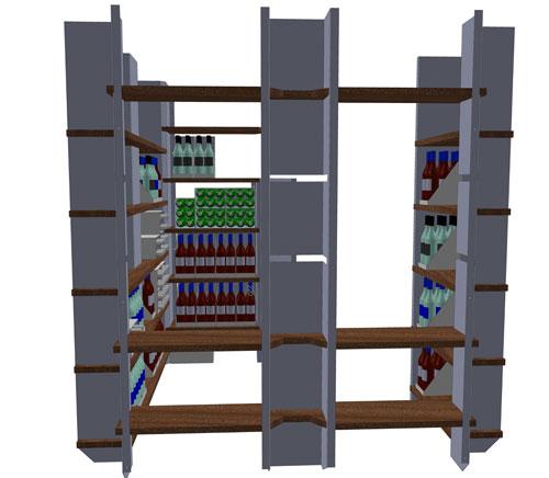 Wine-Cellar- 3D-Model