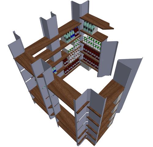 Wine-Cellar---3D-Model