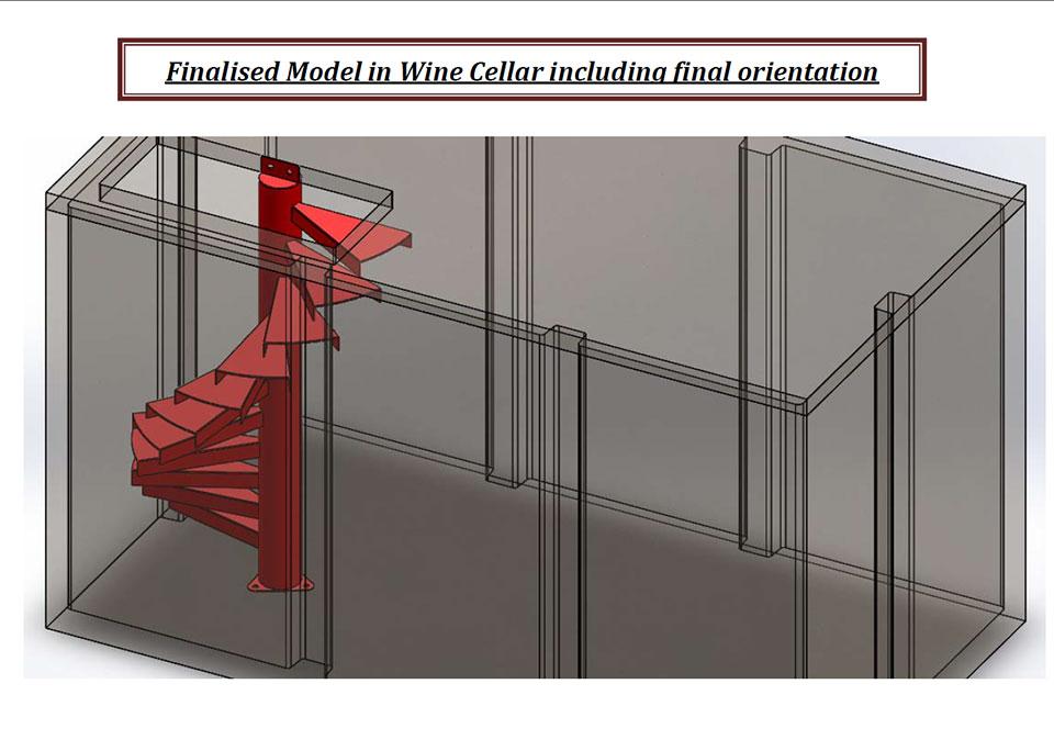 wine cellar model