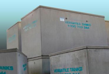Concrete Tanks by Versatile Tanks