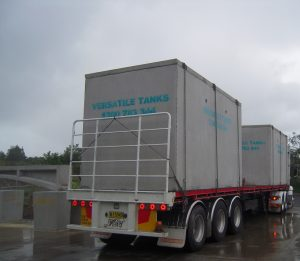 delivery large tanks Qld