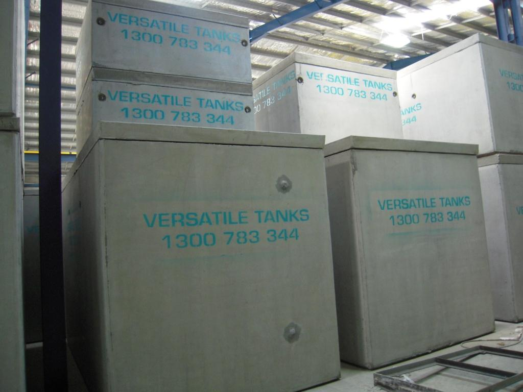 Versatile Tanks concrete tanks