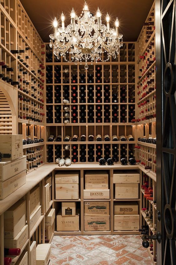 Small Californian wine cellar ideas