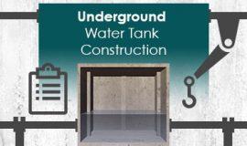 Underground Water Tank Construction