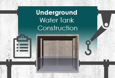 Underground Water Tank Construction