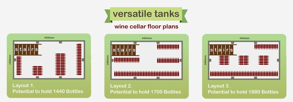 Wine Cellar Floor Plans