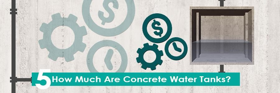 How Much Are Concrete Water Tanks?