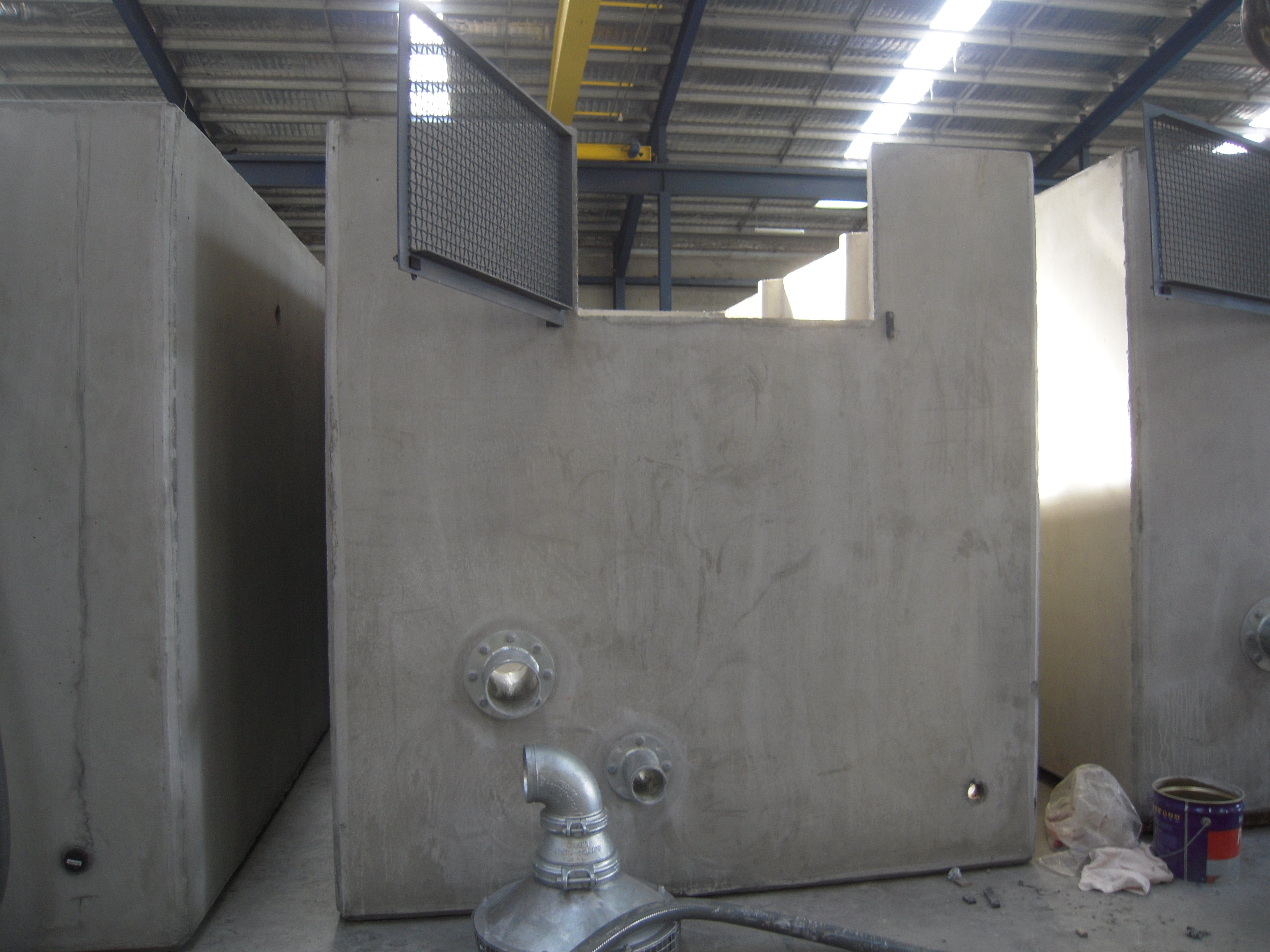 Manufacturing of Concrete Fire Fighting Tank
