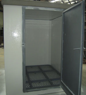 Chemicals Concrete Storage Units