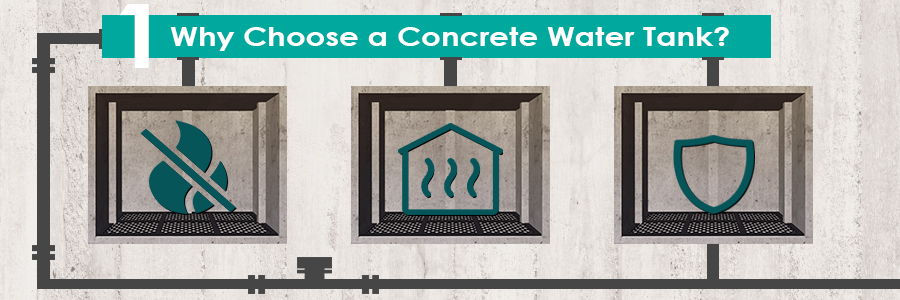 Why Choose a Concrete Water Tank?